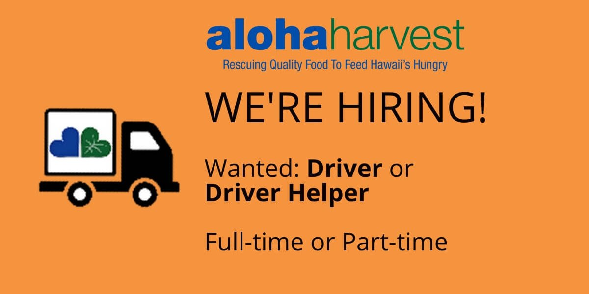 Driver Wanted Spring 2020