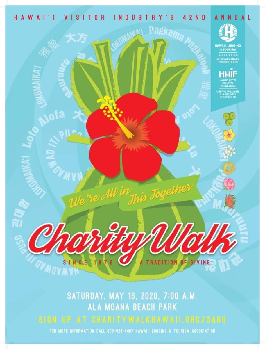 Charity Walk Poster